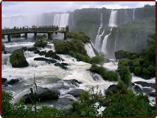 Iguazu Waterfalls - Brazilian side